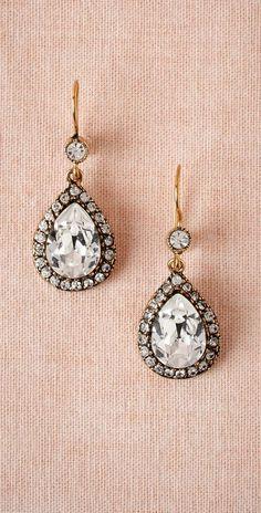 stunning earrings from BHLDN. Do you love?