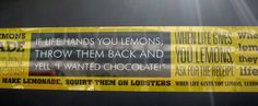 Too many lemons in your life?