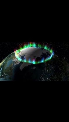 Photograph of the Northern Lights from Space, NASA, if this is real, then its unreal!