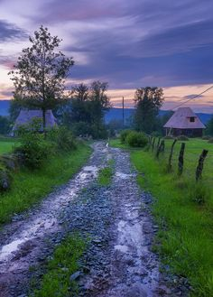 Travel Photo of the Day - Maramures Romania Travel Photography. A dirt road in Breb, Maramures County Romania. Travel Tours, Travel Destinations, Travel Ideas, Travel Europe, Places To Travel, Places To Visit, Visit Romania, Romania Travel, Europe On A Budget