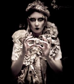 """Incantation from Kirsty Mitchell's stunning narrative photography gallery, """"Wonderland"""". Fabulous photographer with entrancing images and a the most creative imagination ever."""