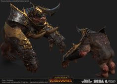 ArtStation - Total War : Warhammer - Gorebeast, Crystel Land
