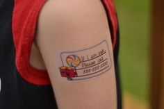 Crafting in the Rain: 50 Disney Crafts Like the safety tatoo!