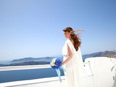 Elegance & Beauty at Santo Wines, Santorini. Wedding planning - Marvellous Wedding! Photo by Marina Gruzdyeva.