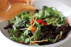 Spicy Hummus Salad Dressing Recipe | POPSUGAR Fitness