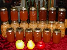 Best Homemade Apple Butter Recipe Also a recipe for apple butter pie!! sounds delish!!