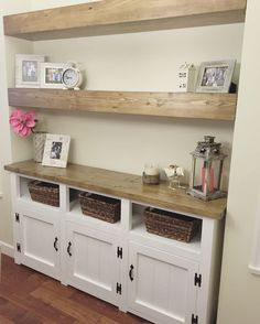 Add some storage and beauty to your dining room with a matching hutch.