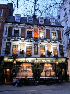 The Sherlock Holmes Pub, London. One of my favourite Central London pub. Head for the upstairs bar, it's usually less crowded. They have some fantastic beers here. :)