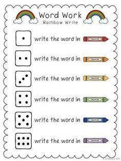 WORD WORK IT {FIVE FREE WORD WORK ACTIVITIES} - http://TeachersPayTeachers.com