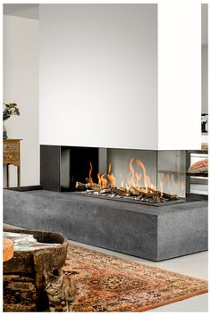 Mit dem Premium-Fire lassen sich Gaskamine kaum von einem herkömmlichen Kamin unterscheiden - aber auf Knopfdruck anmachen. Perfekt für alle, die gerne Feuer sehen und spüren und wenig Zeit zu Warten haben. Mit Gaskaminen von BRUNNER.