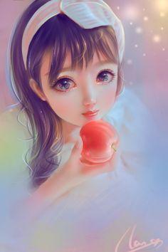 Cute Manga Girl, Cute Kawaii Girl, Cute Girl Drawing, Cartoon Girl Drawing, Anime Art Girl, Cartoon Girl Images, Cute Cartoon Pictures, Cute Cartoon Girl, Beautiful Fantasy Art