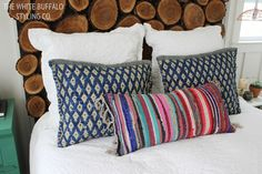 My Secret for Textured Bohemian Pillows - thewhitebuffalostylingco.com