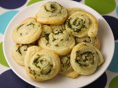 Garlic-herbpinwheels