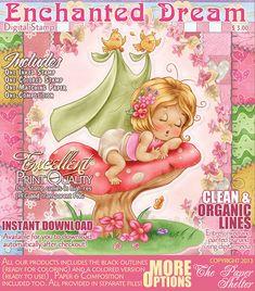Enchanted Dream - Digital Stamp http://www.thepapershelter.com/
