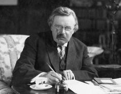 Literary Birthday - 29 May Happy Birthday, G.K. Chesterton, born  29 May 1874, died 14 June 1936 12 Quotes Literature is a luxury; fiction is a necessity. The difference between the poet and the mathematician is that the poet tries to get his head into the heavens while the mathematician tries to get the heavens into his head. The way to love anything is to realize that it may be lost. Poets have been mysteriously silent on the subject of cheese. The thing I hate about an argument is that it…