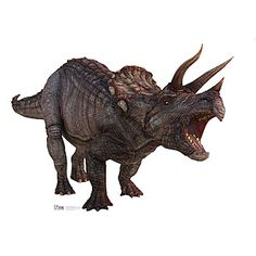 Absolutely Prehistoric| Prehistoric Party| Party Goods: Triceratops Dinosaur Standee Each