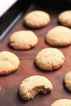 Gluten-free Buckwheat Cookies **need to replace sugar with stevia to make Candida diet friendly