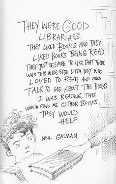 authorchasblankenship:  Chris Riddell illustrates a moment from Neil's childhood…
