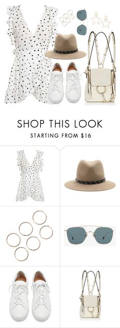 """""""Untitled #3562"""" by theaverageauburn ❤ liked on Polyvore featuring WithChic, rag & bone, Ahlem, Loeffler Randall and Chloé"""
