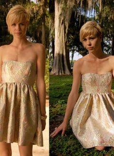 Gold Day Dress