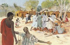 The story of the grateful Samaritan offers us another image of who and what matters to Jesus and should, therefore, matter to us. Ten Lepers, Luke 17, Story Drawing, Christian Crafts, Religious People, Jesus Lives, The Shepherd, African American Art, Bible Stories