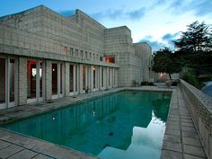 Ennis House -- 1924 -- Los Angeles, California. Photography by John Vincenti.