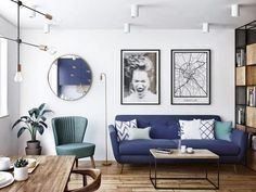 Interior Inspiration, Sofas, Gallery Wall, Home And Garden, Living Room, Interior Design, Architecture, Furniture, Home Decor