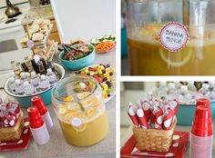 More food and table ideas for Curious George party