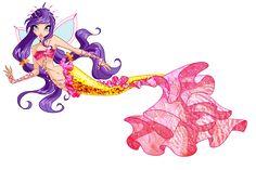 Tine Mermaid by Forgotten-By-Gods.deviantart.com on @deviantART