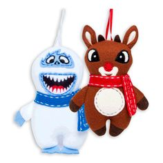 rudolph® plush ornaments - holiday decor | Five Below