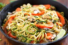 Veggie Fajita Noodles | GI 365