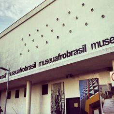 Museu Afrobrasil in São Paulo, SP
