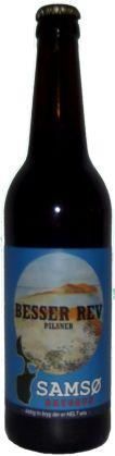 Besser Rev pilsner er en undergæret øl som er brygget på økologisk pilsnermalt, humle og frugt, frugten er med til at give øllet en blød karakter.