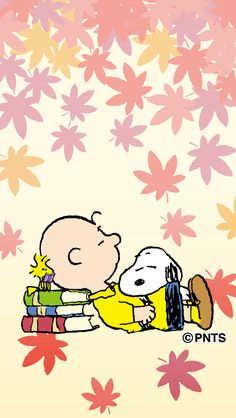 Snoopy, Woodstock and Charlie Brown