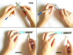 Re-Knife Pencil Knife by Yitu wang & Joy Zhang