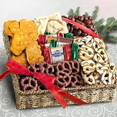 Caramel, Nuts and Crunch Gift Basket $29.95
