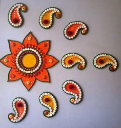 Ready Made Rangoli Pattern