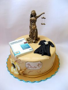 22 Best Lawyer Cake Images