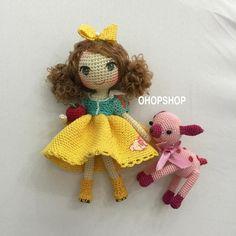 #mulpix #snowwhite #muffinthedoll #crochet #crochetdoll #crochetdolls #amigurumi…