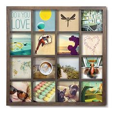 Umbra Gridart 4x4 Picture Frame – DIY Gallery Style Multi...