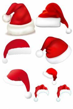 christmas santa hat clip art clip art santa claus clipart rh pinterest com
