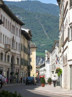 Trento, Italy-reminds me of Sion, Switzerland