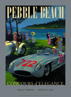 2011, Pebble Beach Concours d'Elegance #poster