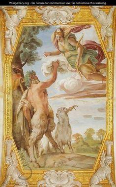 Triumph of Bacchus and Ariadne (Trionfo di Bacco e Arianna) - Annibale Carracci