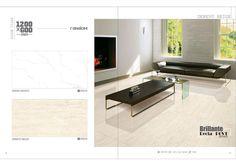 Millennium Tiles 600x1200mm (24x48) Digital Brilliante Recta PGVT Porcelain Floor Tiles Random Series.  - Arena Bianco  - Derevo Beige
