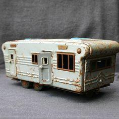 vintage toy trailer