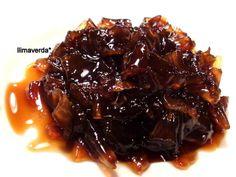 llimaverda: Mermelada de cebolla a la reducción de Pedro Ximénez