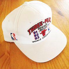 121a148132f FRSHKDS    Vintage 1993 Chicago Bulls Three Peat Sports Specialties Snapback  90s Hats