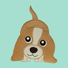 Free Applique Patterns Download | Download FREE Puppy Dog Applique Pattern Sewing Pattern | FREE PATTERN ...