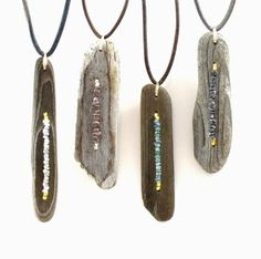 Shop Elle Jay Jewelry for original and one-of-a-kind driftwood jewelry!